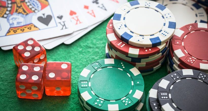 What are the types of gambling?