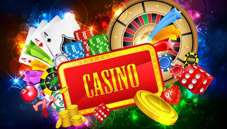 A detailed view of playing online casino games